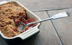Apple Beetroot and Walnut Crumble, Tess Ward, Recipe, Sunday, Baking, crumble, best,easy, fast