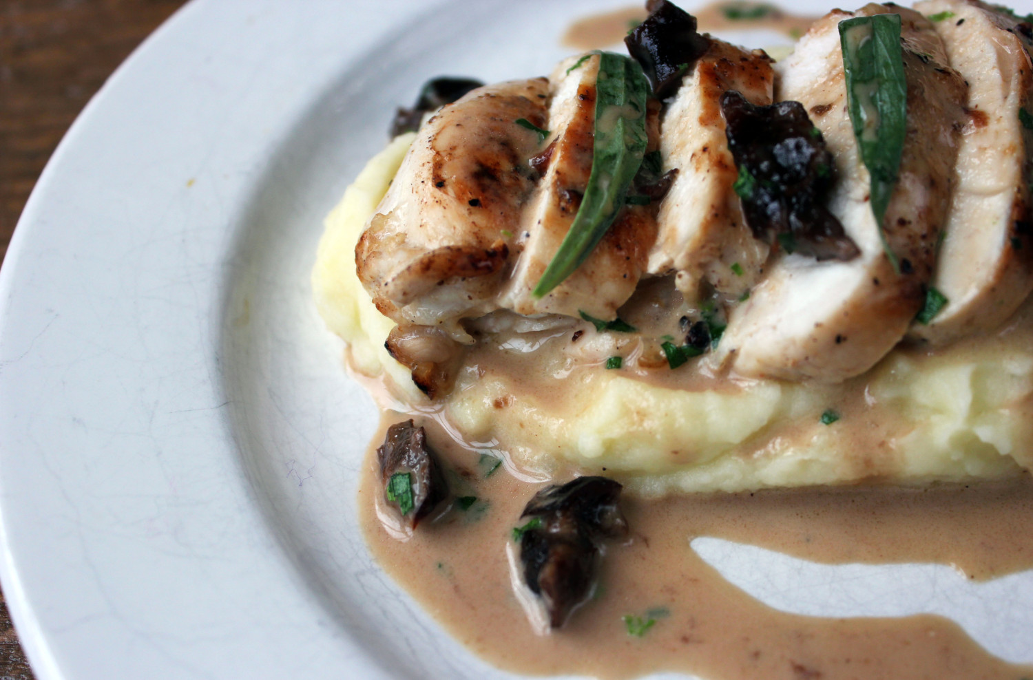 Tarragon Chicken Breast with Prunes   The Yes Chef