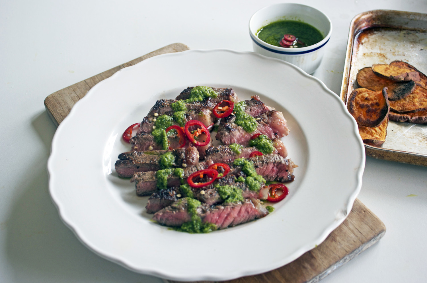 World Cup Argentinean Steak Recipe With Chimichurri