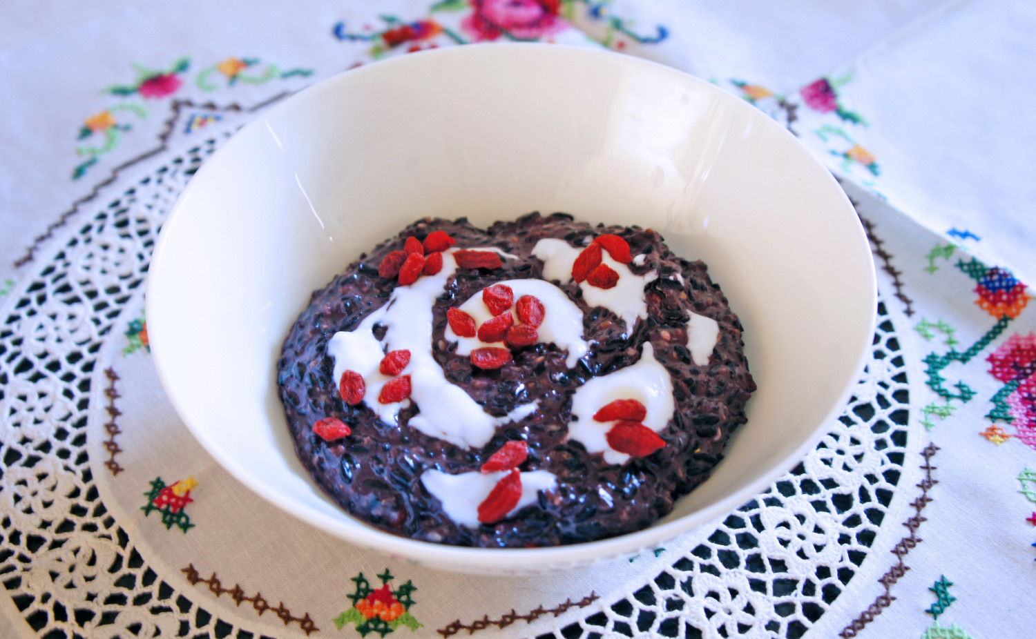 Coconut Black Rice Porridge - The YES Chef