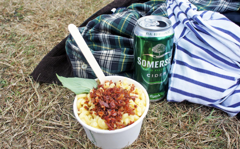 Macaroni Madness at Camp Bestival - Tess Ward