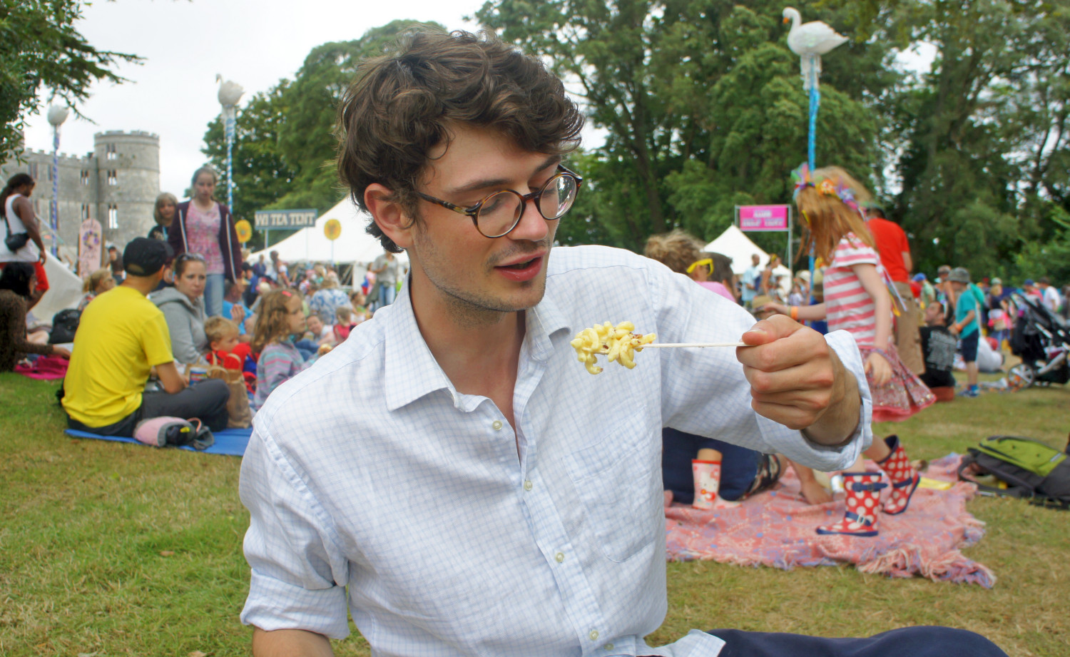 Macaroni Madness at Camp Bestival