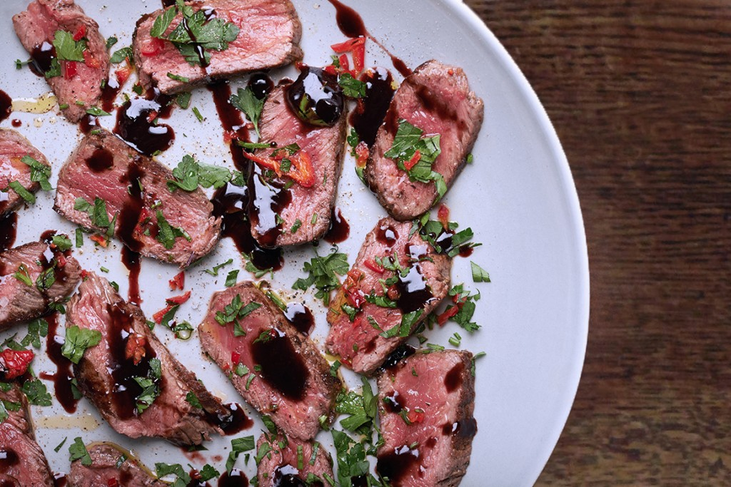 The Best Date Night Steak with Herbs and Chilli