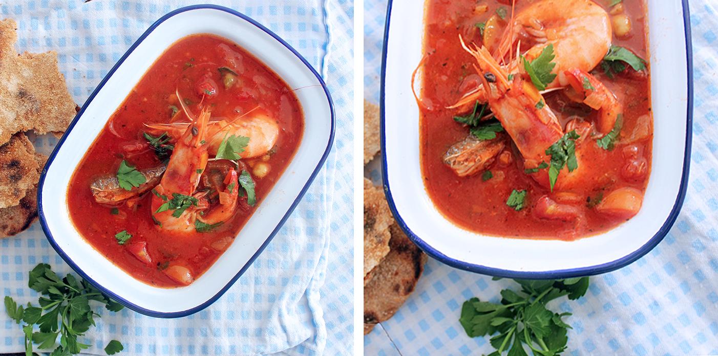 The Best Date Night Sicilian Fish Stew