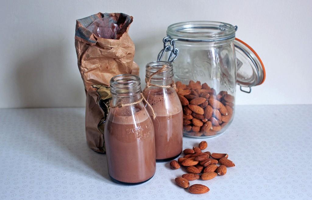 Coffee Chocolate Almond Milk - Tess Ward Chef