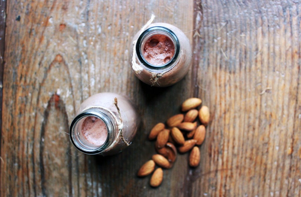 Coffee Chocolate Almond Milk Recipe - Tess Ward Chef