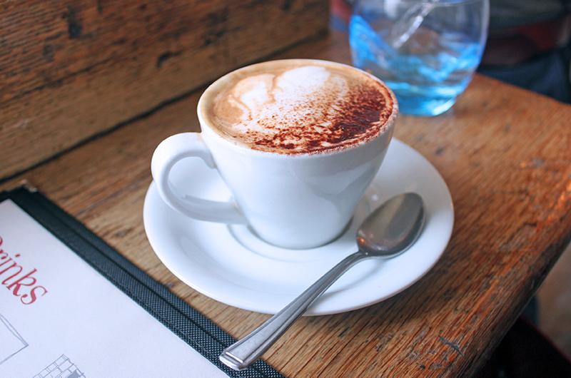 Coffee at The Garrison, Bermondsey