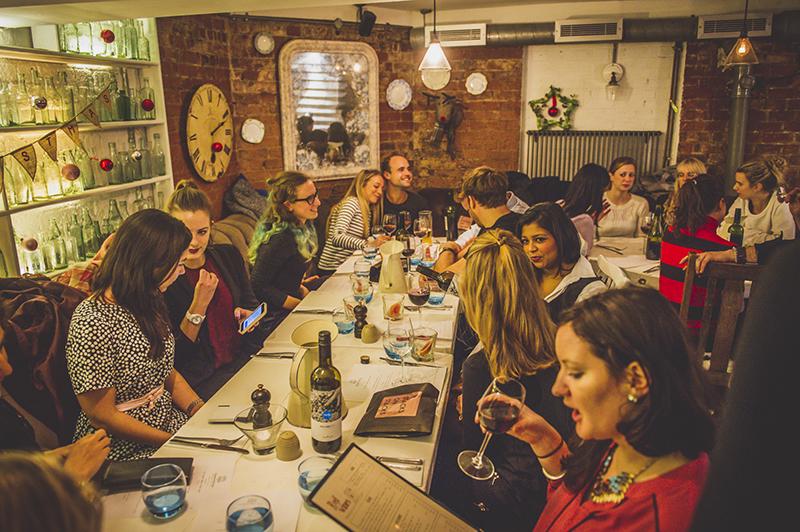 Tess Ward's Naked Festive Feast Supperclub
