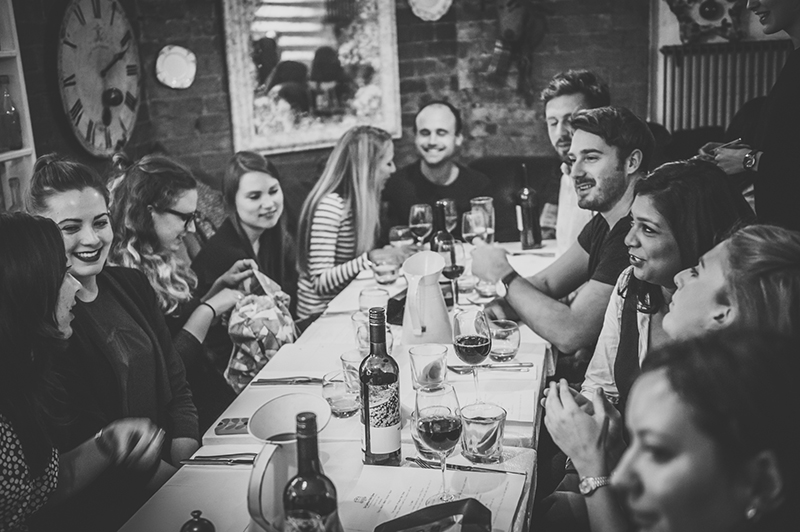 Tess Ward's Naked Festive Feast Supperclub