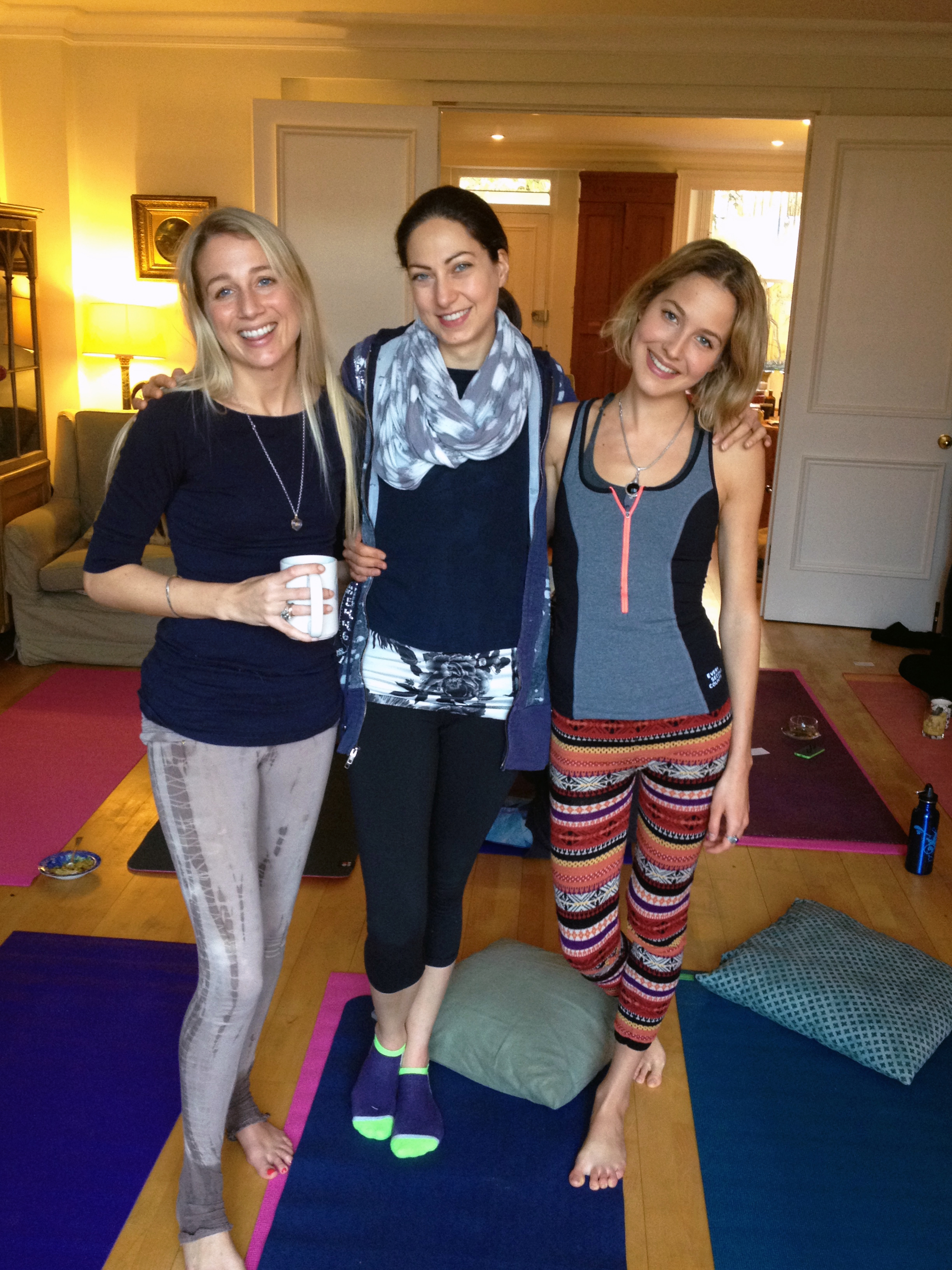 Heartwarming Valentines Yoga Supperclub