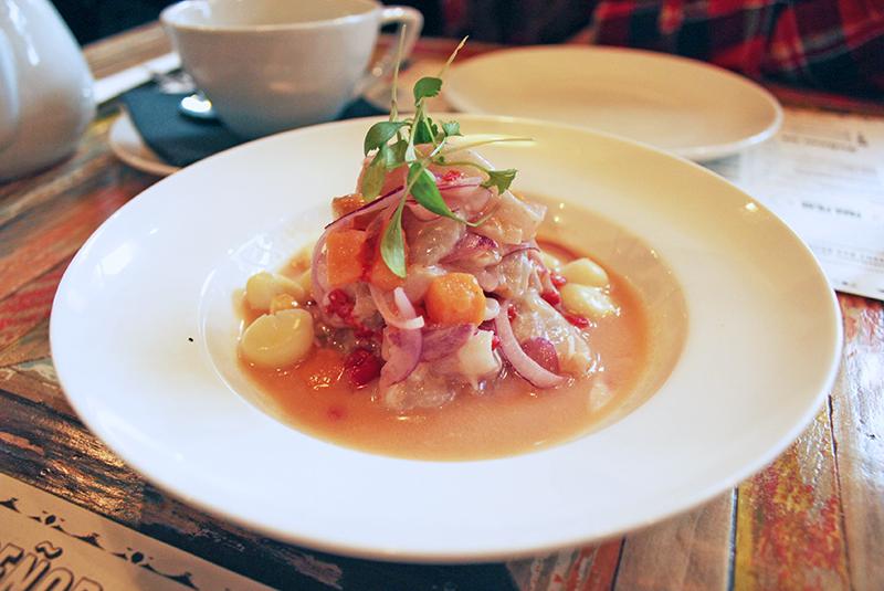 London Eating: Senior Ceviche, Soho
