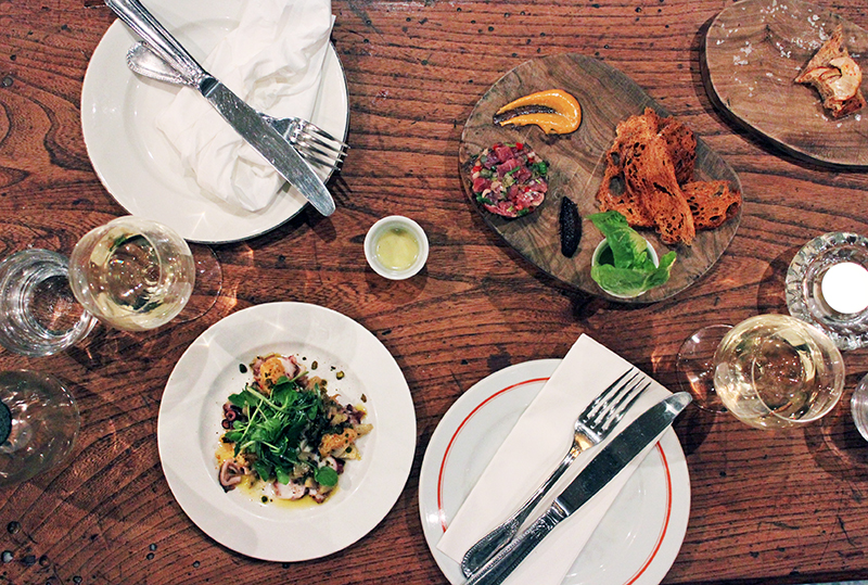 London Scoffing and Crispy Frogs Legs at Blanchette, Soho