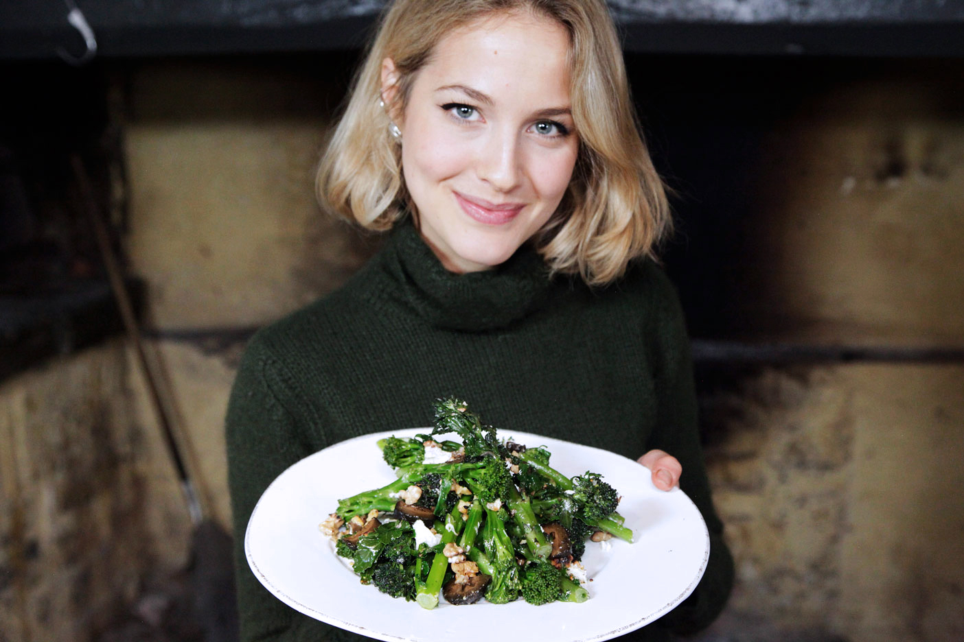 Tess Ward, Super, Green, Salad
