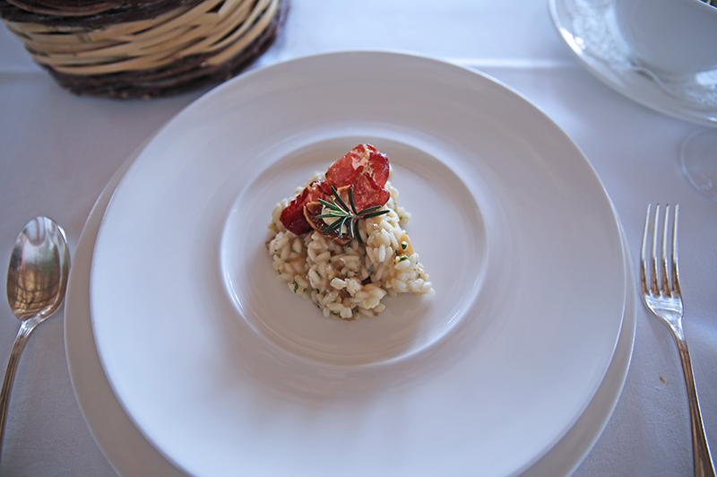 Lunch and a Polish at Masseria Torre Coccaro, Puglia