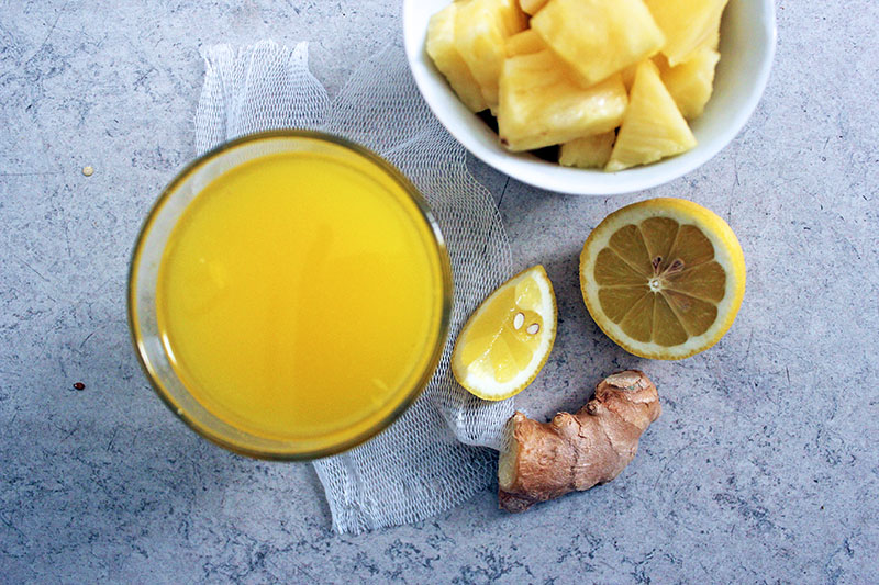 Daffodil Juice, Tess Ward, Juices, Smoothie, recipe, happiness, pineapple