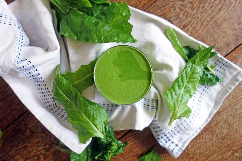 Green Hulk Protein Shake