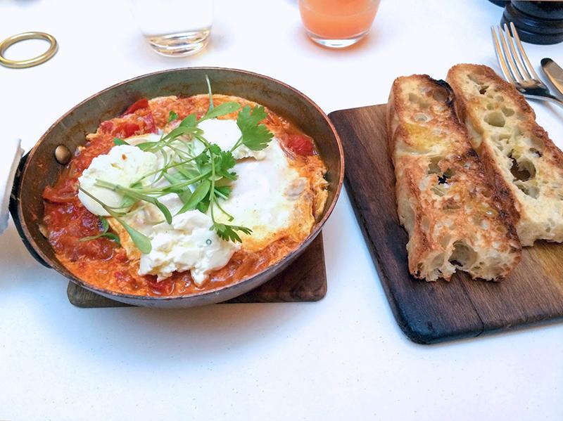 London Eating: 5 Best Summer Brunch Spots