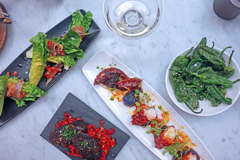 London Eating: Tapas at Southwark's Camino, Tess Ward, Review, London, Best