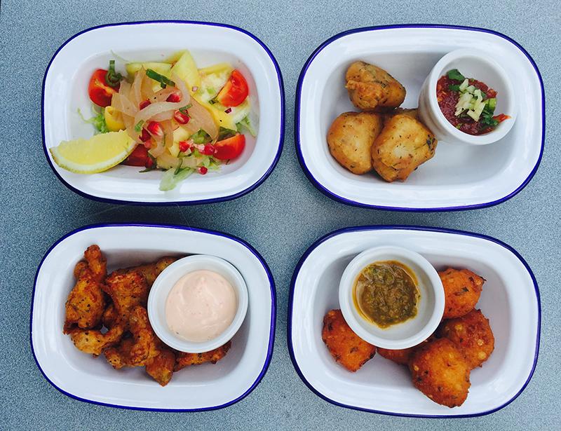 London Eating: Scoffing down on Seychelles Street Food
