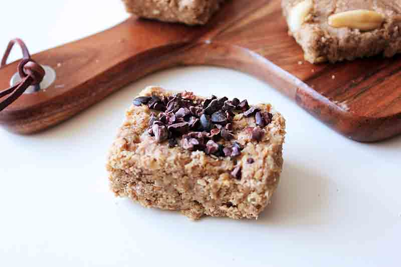 Easy No-bake Healthy Protein Flapjacks