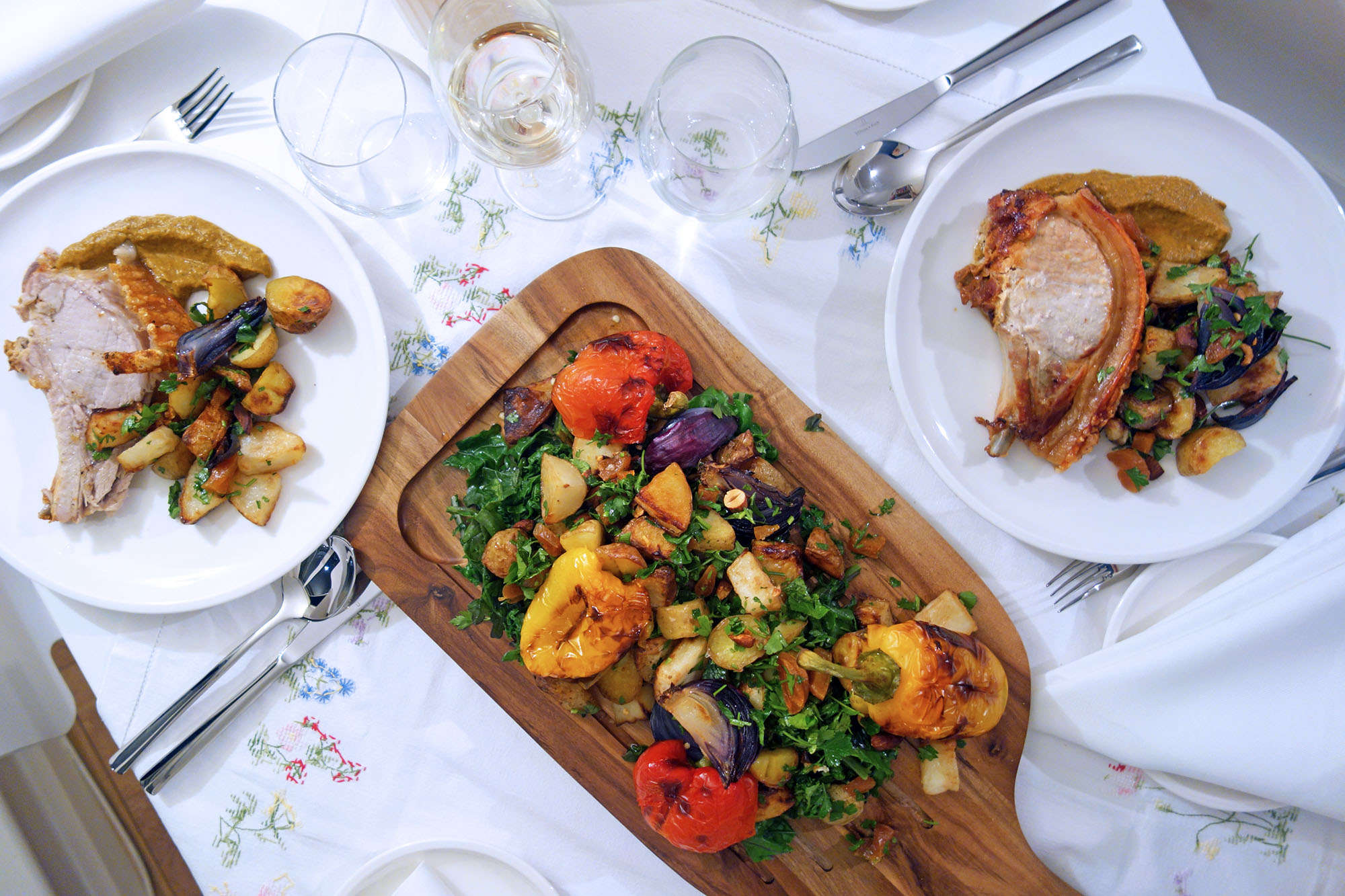 perfecting a stress free dinner party tess ward