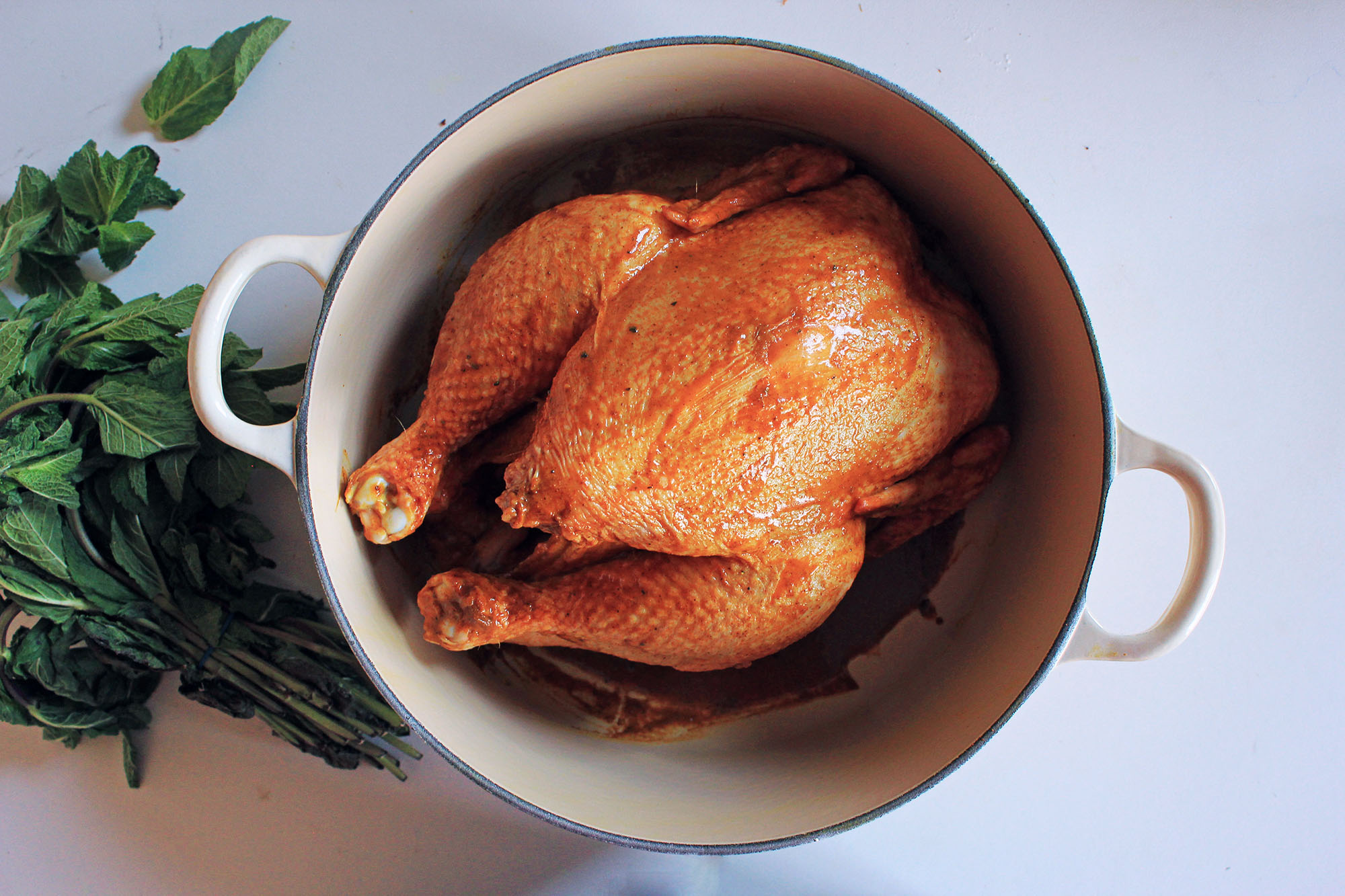 Spanish Pot Roast Chicken