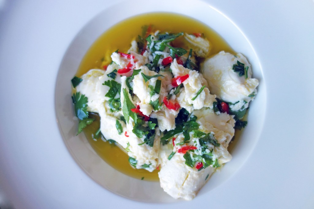Chilli and Herb Marinated Mozzarella
