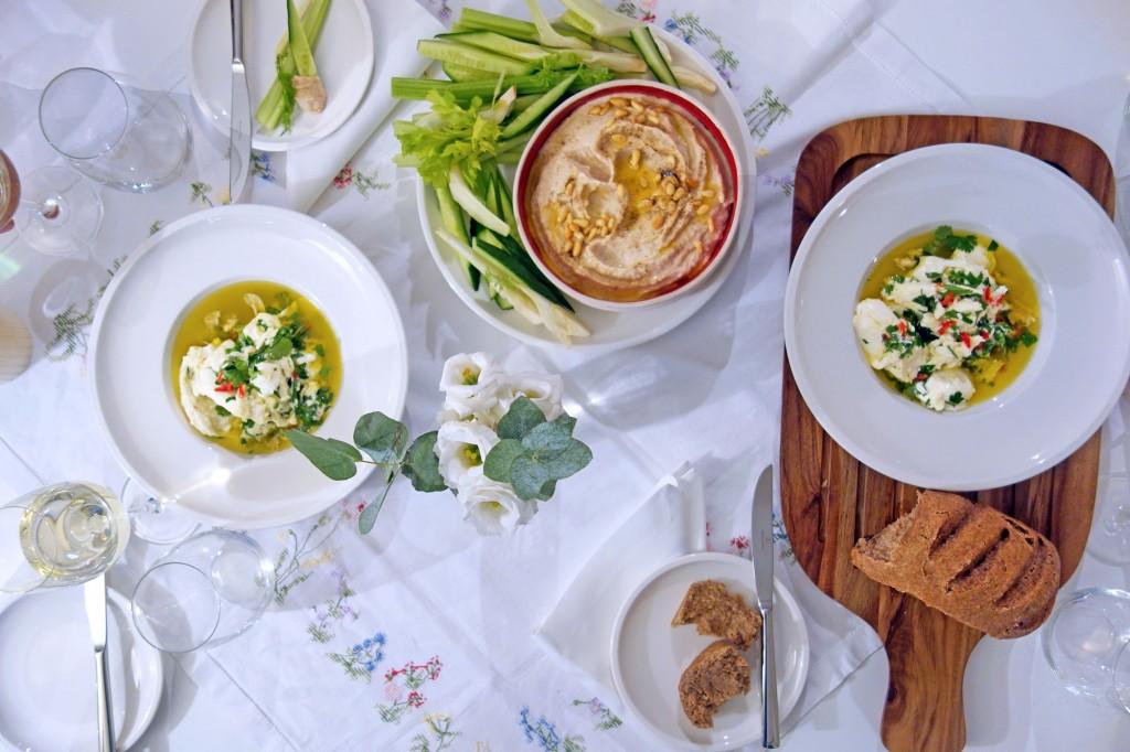 Chilli and Herb Marinated Mozzarella
