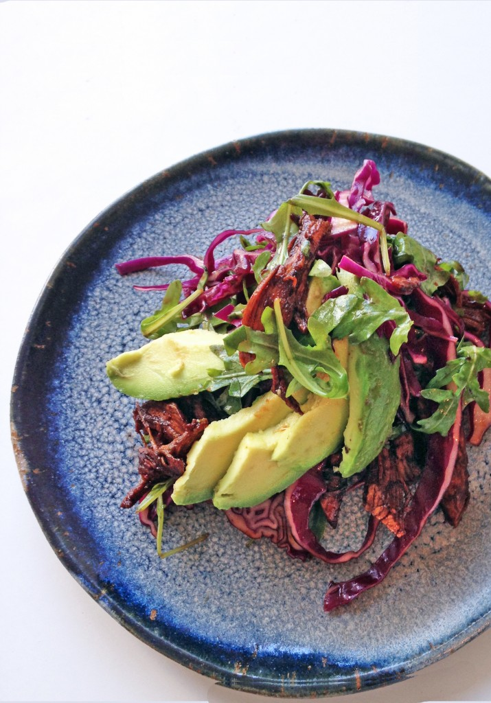 Crispy Tamarind and Avocado Chicken, Salad, tess ward, chicken, recipes,