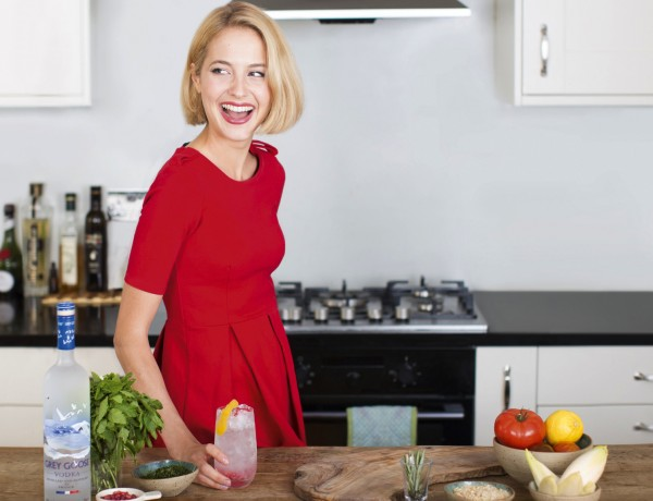Cordon Bleu chef and author Tess Ward for GREY GOOSE Christmas Entertaining at Home