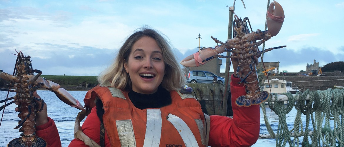 A Scottish Seafood Adventure , Tess Ward, Chef, Scotland, Lobster