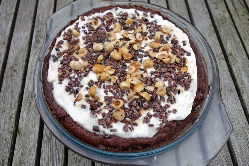 christmas, dessert, pudding, cake, Flourless Orange Chocolate Olive Oil Torte, tess ward, recipe