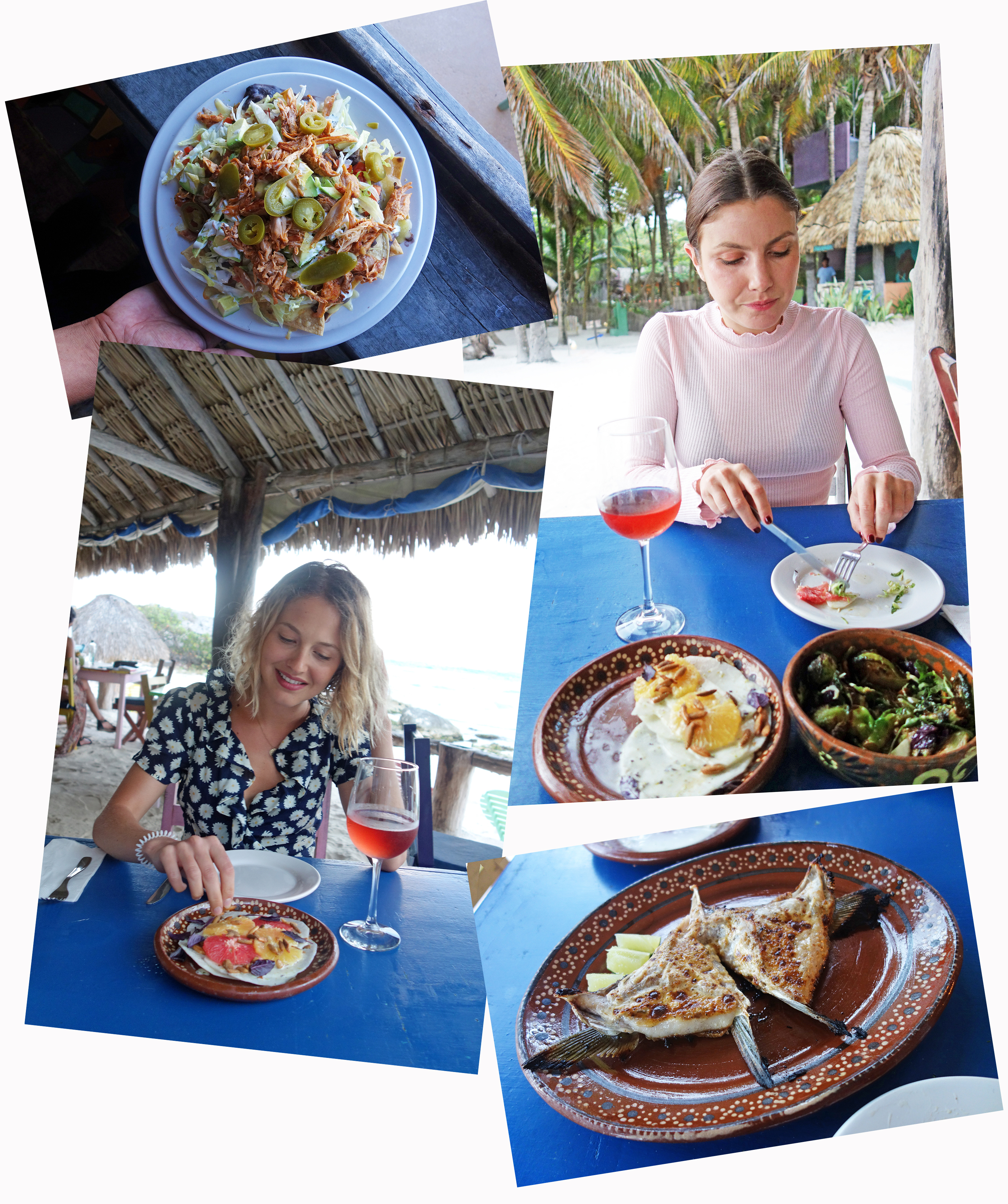 tess ward, mexico, travel with stays at the <a href=