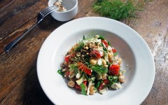 Turkish Chopped Salad, Tess Ward, Recipe, Salad, Chopped, Easy, Fast, Simple, Nuts, Spice, summer, diet, body, health